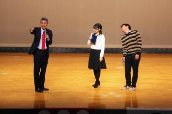 追い打ちをかけるように「真田丸」制作統括の屋敷陽太郎さんがサプライズで登場