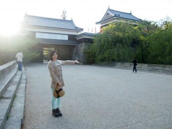 小日向えり 上田城にて