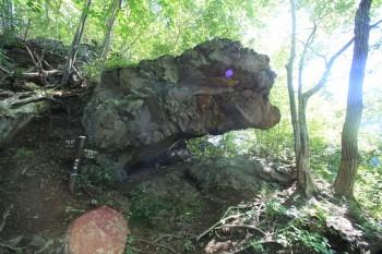 観音山・不動滝(象ヶ鼻)